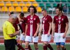 """Foto: """"Dinamo Ogre"""" rezultatīvā cīņā pārspēj """"Sarunātu Spēli"""""""