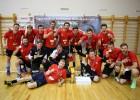 Foto: Rīgas čempionātā florbolā uzvarētāju apbalvošana