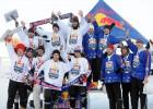 Pirmajā dīķu hokeja čempionātā uzvar Talsu komanda