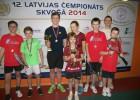 Latvijas čempionātā skvošā dominē jaunie jelgavnieki