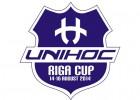 "Sākas starptautiskais florbola turnīrs ""Unihoc Riga Cup"""
