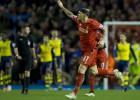 """""""Liverpool"""" 97. minūtē izglābjas no zaudējuma pret """"Arsenal"""""""