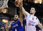Serbija sagrauj arī Itāliju un 1/8 finālā pret Somiju, slovēņi trešie C grupā