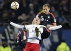 """Rudņevs atgriežas laukumā, HSV sīvā cīņā zaudē """"Bayern"""""""
