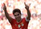"""Gaitans ar asarām acīs atvadās no """"Benfica"""", Džaka tuvojas """"Arsenal"""""""