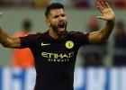 Mančestras ''City'' sasit ''Steaua'', Agvero <i>hat-trick</i> un pendeļu problēmas