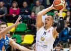 """""""Jēkabpils"""" galotnē atspēlē 17 no 19 punktiem, tomēr nepagūst izglābties Tallinā"""