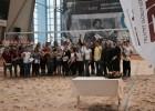 LSFP stipendiju saņēmējus uz pludmales volejbola spēli izaicina Samoilovs un Pļaviņš