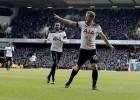 Keinam <i>hat-trick</i> ''Hotspur'' uzvarā, ''Swansea'' divreiz sit savos vārtos