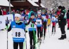Piecām sporta skolām uzvaras sprintā jauniešu grupās LČ slēpošanā