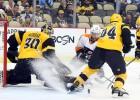 Pitsburga atkal zaudē, ''Flyers'' un ''Ducks'' gūst sešus vārtus