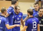Jelgavnieki zaudē Pērnavā, debitantiem pirmais punkts pret valsts čempioniem