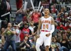 """""""Hawks"""" sakauj """"Wizards"""", """"Warriors"""" atspēlējas un izcīna trešo uzvaru"""