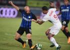 ''Inter'' pārbaudes spēlē ar minimālu pārsvaru pieveic ''Lyon''