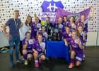 Video: FK NND pārspēj buldodzes un triumfē Unihoc Riga Cup sieviešu grupā