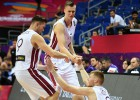 Video: Porziņģim 28 punkti, Eiropas čempionātā Latvija pārspēj arī britus