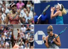 ASV sieviešu tenisa čempionātā pusfinālu diena