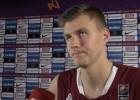 """Video: Porziņģis: """"Faniem gribu teikt - šis ir tikai sākums Latvijas basketbolam!"""""""
