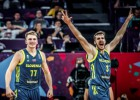 Klāt fināls: Dragičs pret Bogdanoviču, Slovēnija pret Serbiju