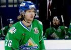 KHL janvāra labākie - Francouzs, Larsens, Hohlačovs