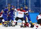 Japāna uzvar pagarinājumā un par 5. vietu spēlēs pret Šveici