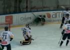 """Video: """"Liepāja/Optibet"""" uzvar """"Kurbadu"""" OHL pusfināla pirmajā spēlē"""
