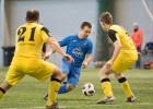 """1. līga: Kārkliņam un Silovam <i>hat-trick</i>, RTU un """"Daugavpils"""" sasit deviņus vārtus"""