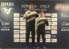 Latvijas BMX sportisti izcīna piecas godalgas UEC Eiropas kausa trešajā posmā