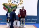 Video: Koževņikovs iegūst Eiropas čempionāta grūšanas bronzu