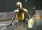 """Video: """"Golden Knights"""" episki atklāj konferences fināla pirmo mājas cīņu"""