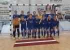"""""""Nikars-Vanagi"""" otrā un ceturtā vieta lielākajā telpu futbola turnīrā Eiropā"""