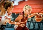 Cietais turku rieksts: U16 meitenēm agrā spēle par Eiropas ceturtdaļfinālu