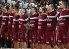 Latvija pret Rendolfu, Vidmaru un Eiropas čempioni Slovēniju