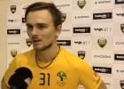 Video: Stepāns: ''Nācām ar domu, ka nevaram pieļaut divdesmit pirmo uzvaru pret mums''
