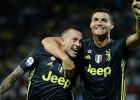 """Ronaldu vārtu guvums 81. minūtē nodrošina """"Juventus"""" uzvaru pār pastarīti"""