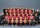 Latvijas vīriešu izlase devusies uz pasaules čempionātu Prāgā