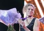 Lietuviešu vieglatlēte Skujīte emocionālā ceremonijā saņem Londonas OS medaļu