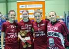 Latvijas florbolistes PČ kvalifikāciju noslēdz ar zaudējumu Slovākijai