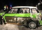 Latvijas rallija čempions pirms Sarmas rallija testos piedzīvo avāriju