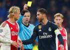 Ramoss noliedz apzināta brīdinājuma saņemšanu, UEFA VAR lēmumu atzīst par pareizu
