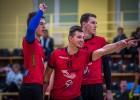 """Latvijas volejbola čempionāta ceturtdaļfināla pirmajā raundā uzvar OC """"Limbaži""""/MSĢ"""