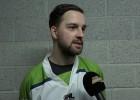 Video: Cinks:'' Pēdējais periods nebija hokejs, bet gan malkas ciršanas sacensības''