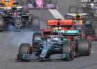 """Botass jau startā apsteidz Hamiltonu, F1 sezona sākas ar """"Mercedes"""" dubultuzvaru"""