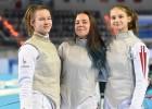 Trīs Latvijas paukotājas iekļūst pasaules kadetu čempionāta trīsdesmitniekā