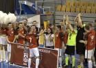"""Video: """"Petrow"""" izcīna telpu futbola Virslīgas bronzu"""