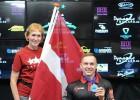 Kasparam Turkam Eiropas čempionāta sudrabs pūlā ratiņkrēslā