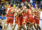Spānijas basketbolisti Eiropas čempionātā triumfē arī kadetu konkurencē