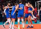 Serbija četros setos uzvar pārsteidzošo Slovēniju un trešo reizi triumfē EČ