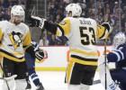 """Bļugeram rezultatīva piespēle, """"Penguins"""" vēlreiz iemet septiņus vārtus"""