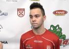 """Video: Nazarovs: """"Pēc pirmā perioda sapriecājāmies"""""""